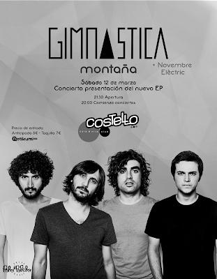 Gimnastica Sala Costello Madrid 12 de Marzo