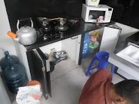 Kitchen Set Hitam Putih Monokrom Furniture Semarang