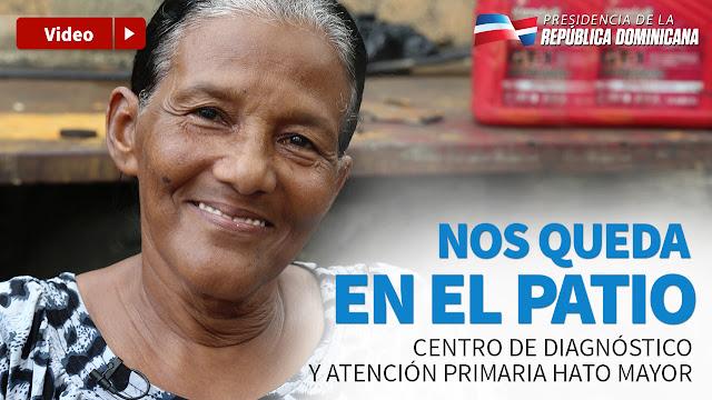 """VIDEO: Daira Mota: """"Este Centro de Diagnóstico es un orgullo para Hato Mayor"""""""