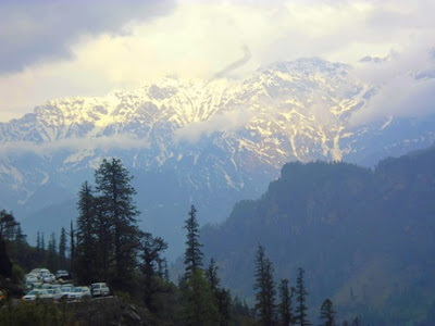 The Way to rohtang PAss