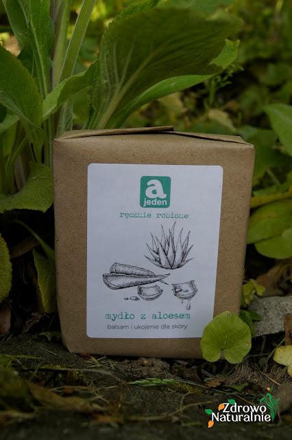 Ajeden - Mydło z aloesem dla skóry wrażliwej i wymagającej ukojenia