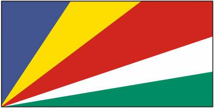 Bandeira das Ilhas Seychelles