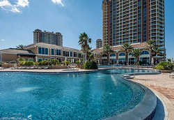 Portifino Condominiums Outdoor Pool Pensacola Beach Florida