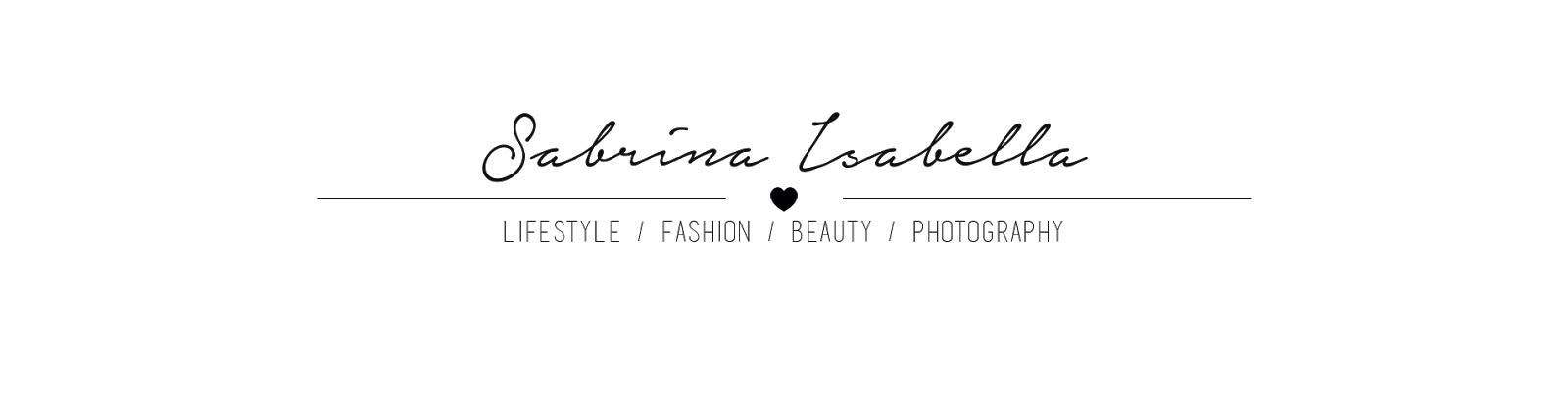 Sabrina Isabella // Lifestyle,Fashion,Beauty,Photography