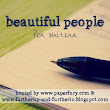 Beautiful People: Author Writing Process