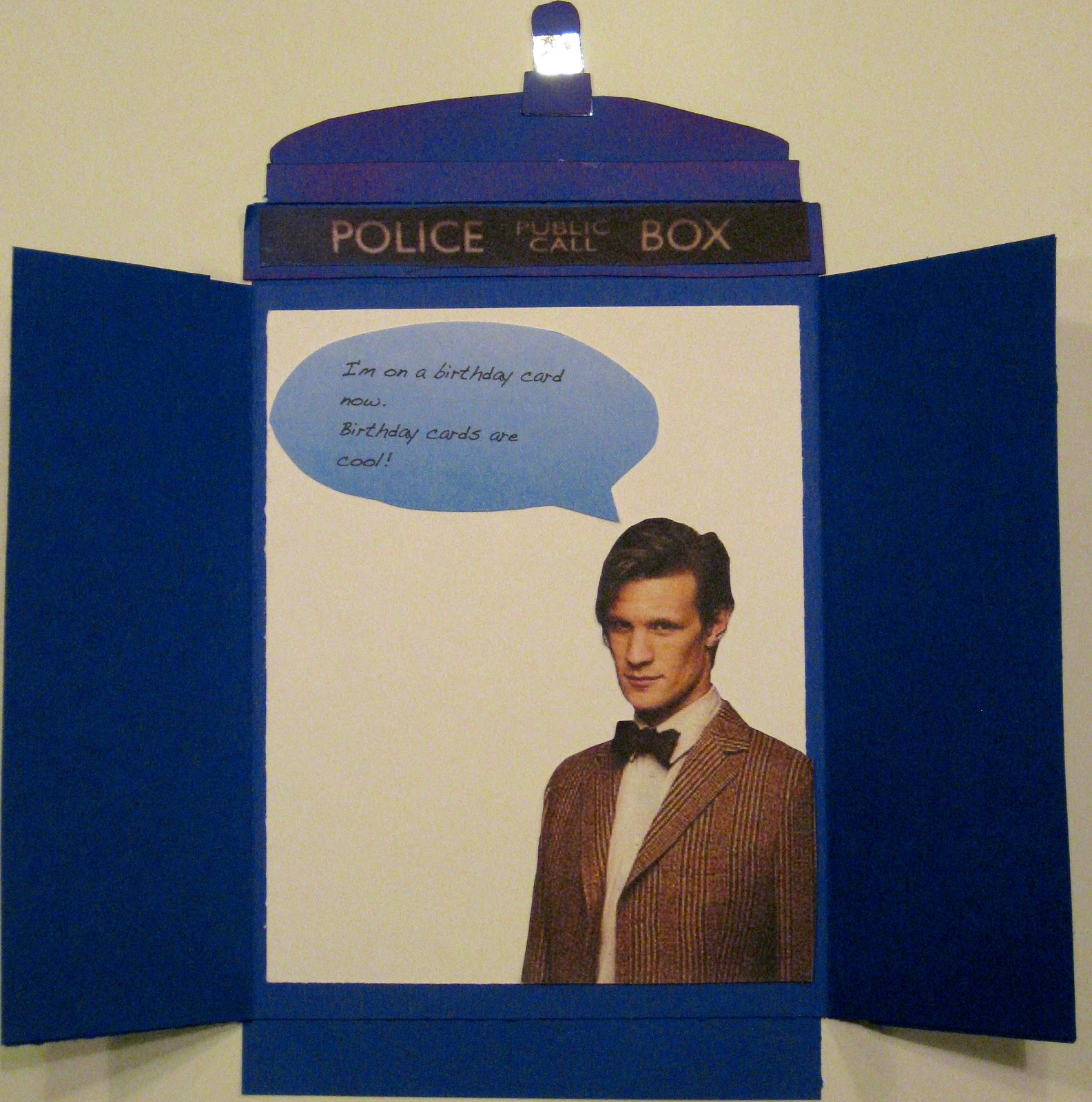 Keitha's Chaos Dr Who Birthday Card