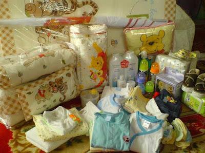 perlengkapan bayi sebelum melahirkan