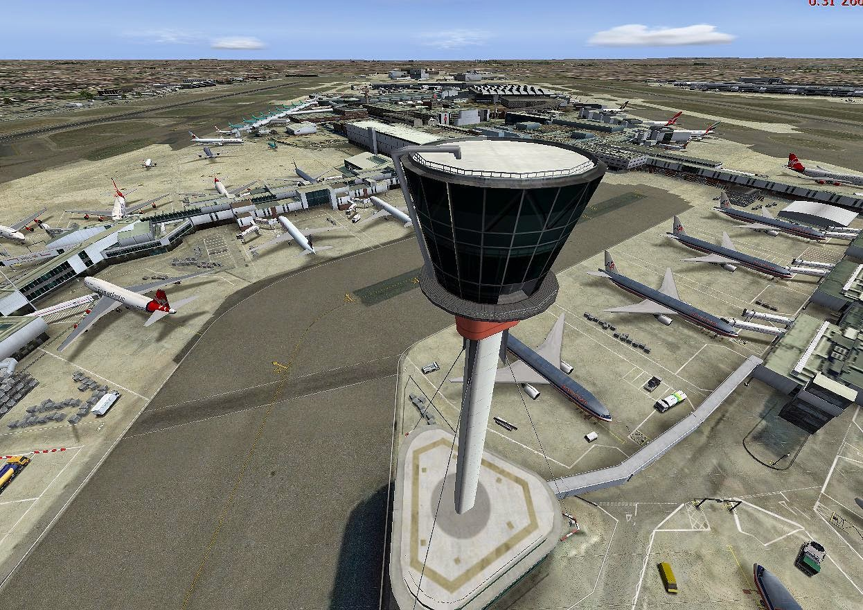 Download Scenery UK2000 Heathrow Extreme V3 (EGLL) #FSX