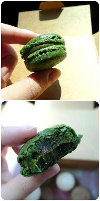 马卡龙, macarons, Green Tea and Azuki, Babycakes Sweet Shoppe, G Tower, 吉隆坡