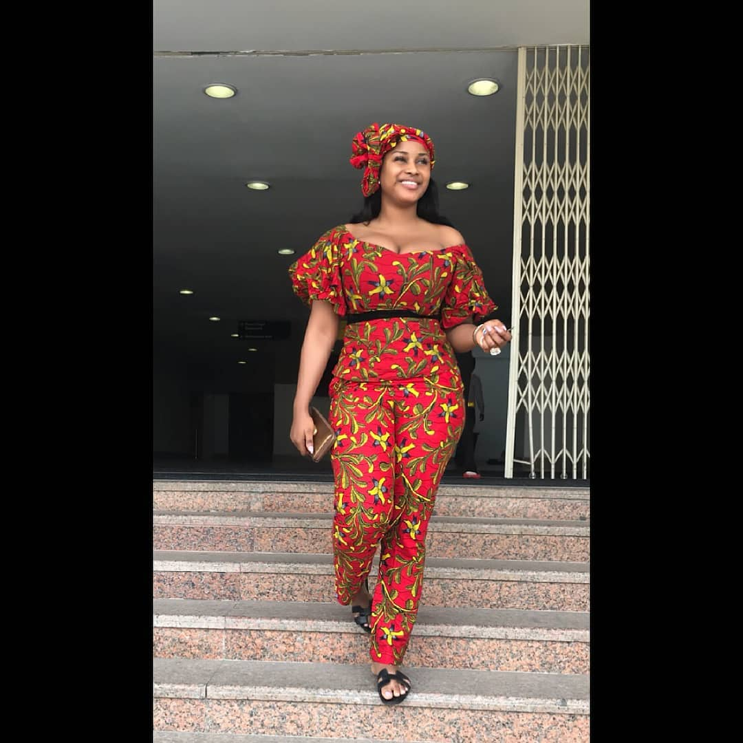 African Print Jumpsuit Styles 2018 You Need To Express