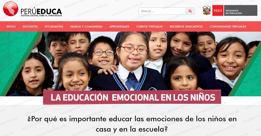 LA EDUCACIÓN EMOCIONAL EN LOS NIÑOS: ¿Por qué es importante educar las emociones de los niños en casa y en la escuela? - www.perueduca.pe