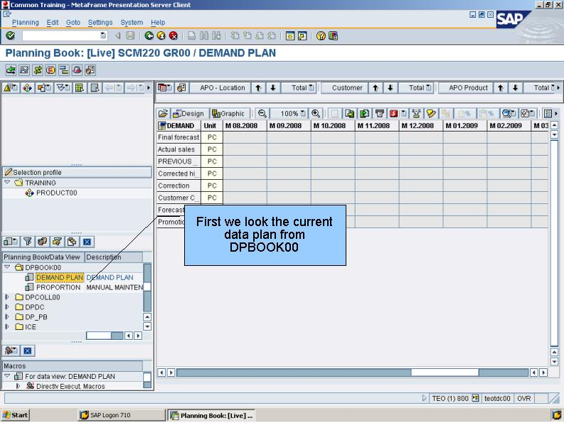 青蛙SAP分享 Learning & Examination: APO Demand Planning