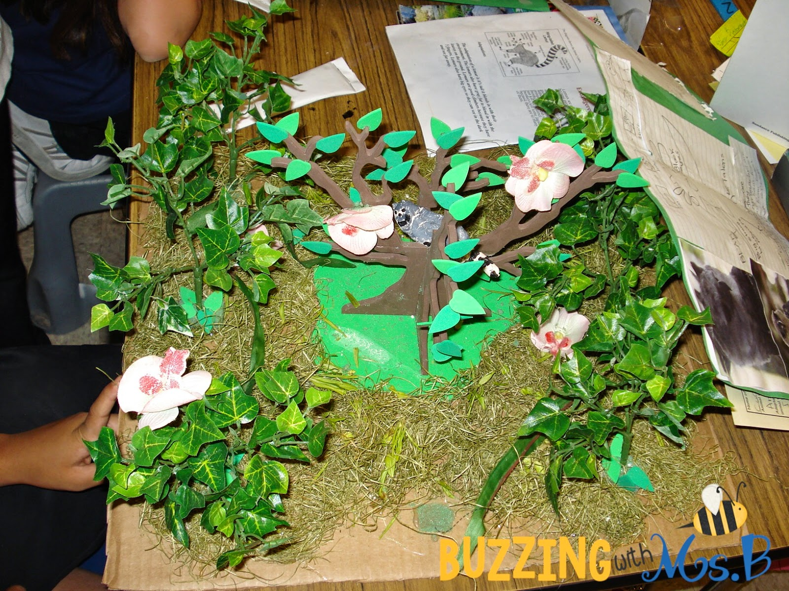 Buzzing With Ms B A Rainforest Museum For Earth Day