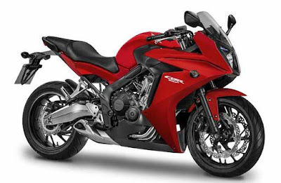 2016 Honda CBR650F ABS red color