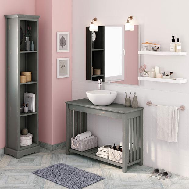 50 fotos de m veis para casa de banho pequena decora o e ideias - Lejas leroy merlin ...