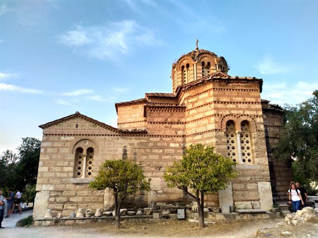 iglesias bizantinas de atenas
