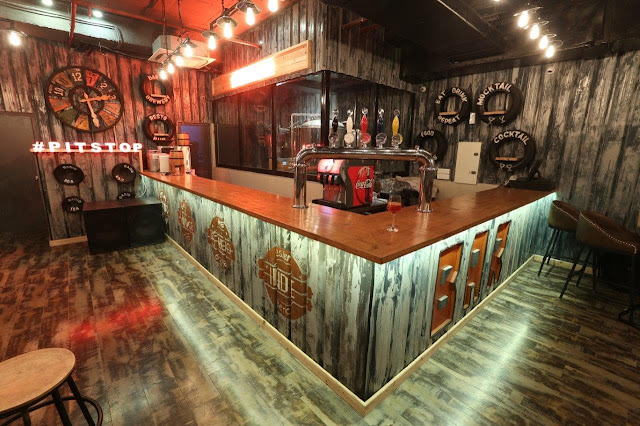 Interiors of SMAAASH Pitstop Brewpub 3-