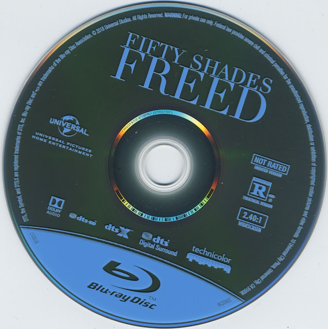 Fifty Shadew Freed Bluray Label