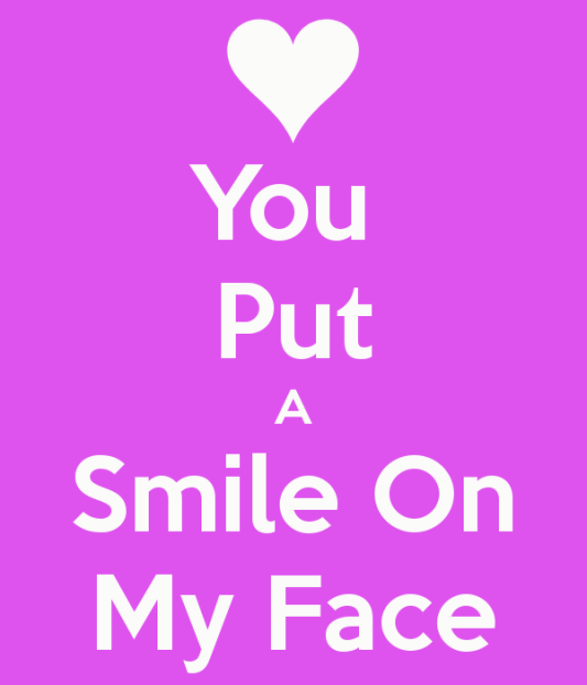 Thank You For Making Me Smile Everyday Quotes: Thanks For Putting A Smile On My Face Quotes. QuotesGram