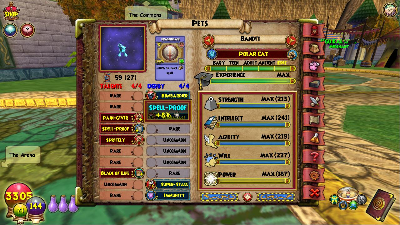 Wizard101 spell proof