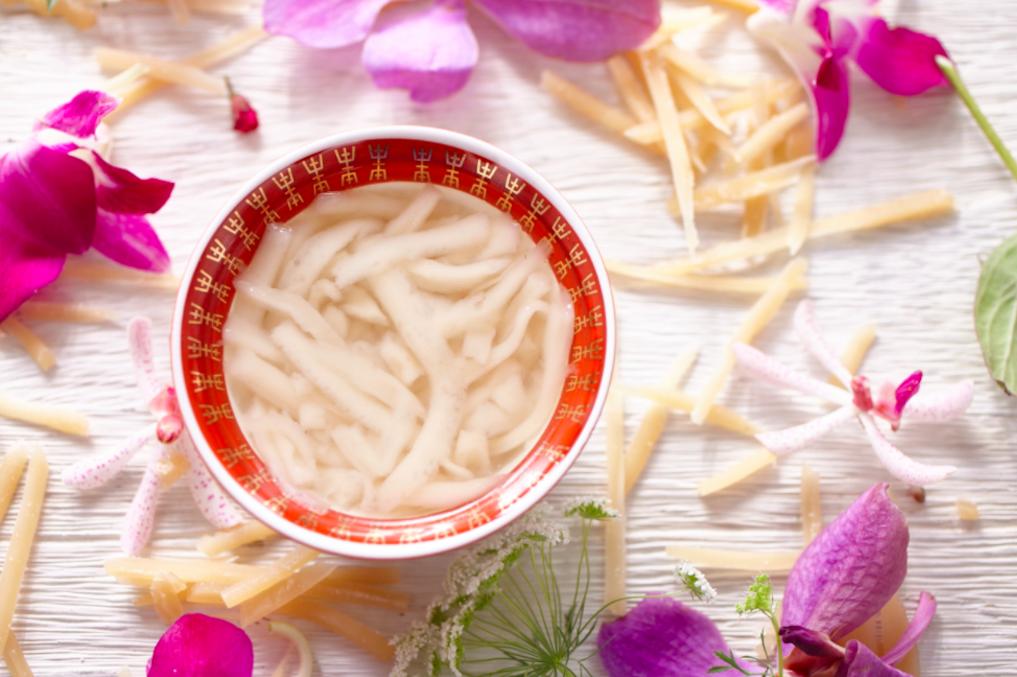 傳統台菜:年糕茶