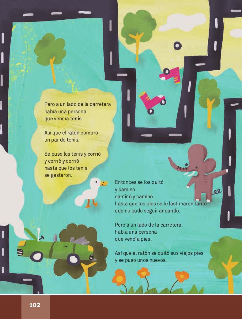 El viaje - Español Lecturas 4to ~ Apoyo Primaria