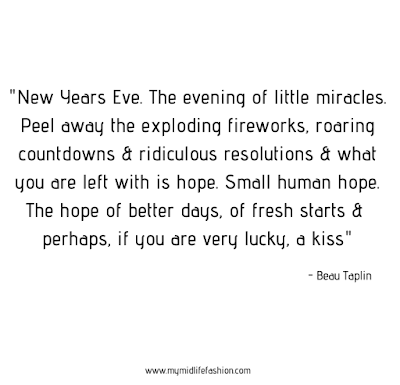 my midlife fashion, ben tallinn, new years eve, new years eve quote
