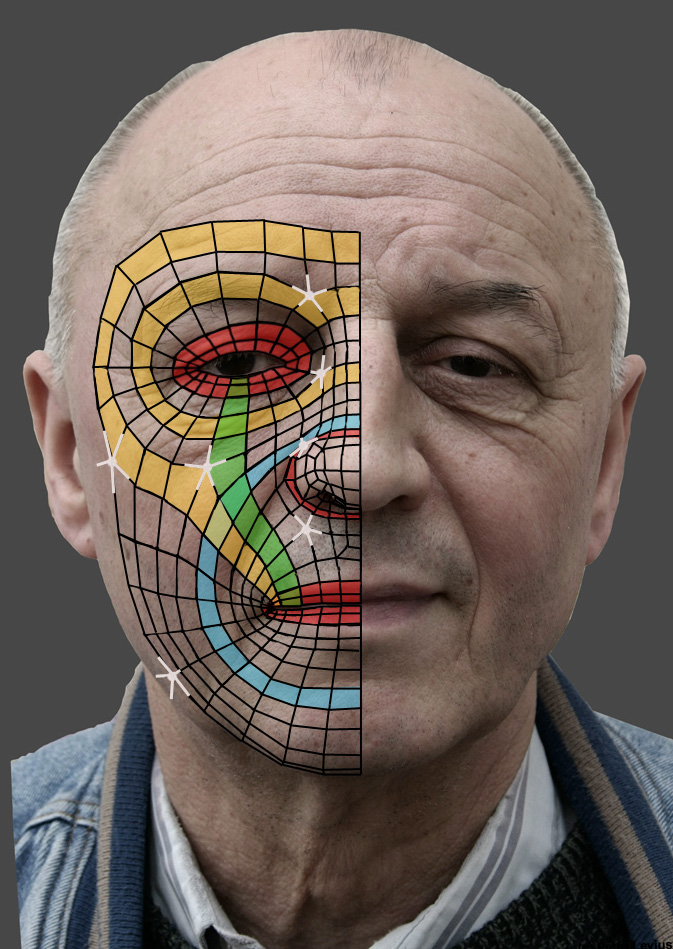 Anthony Callaghan - Portfolio: Realistic Human Head in