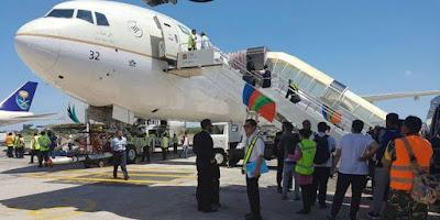 Raja Salman.. 16,6 TON Barang bawaan Diterbangkan Dari Bandara Ngurah RAI BALI