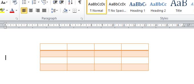 Cách tô màu cho bảng, cột, hàng, ô trong Word (Định dạng bảng) (#6)