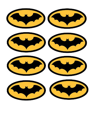 printable batman logos