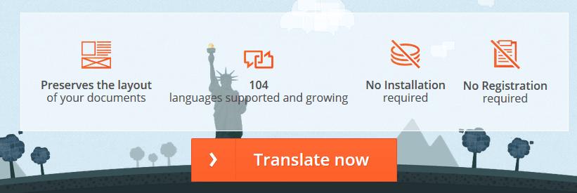 Translate situs onlinedoctranslator