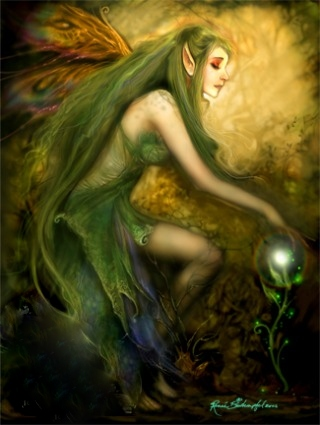 BEAUTIFUL ELF-FAERIE