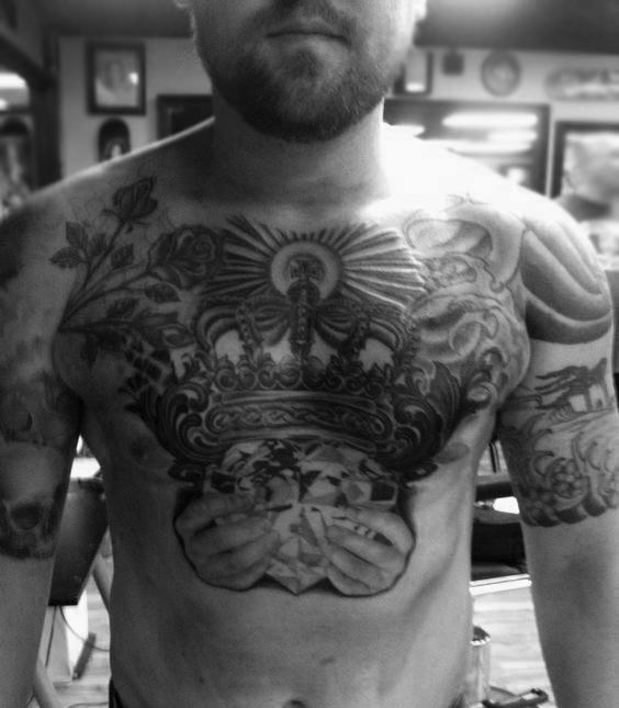 claddagh tattoo designs for men