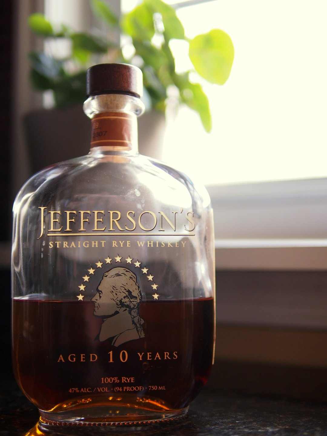 ef8229d5875 Whiskey Obsessive  Jefferson s 10 Year-Old Rye Whiskey Review