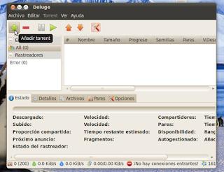 Deluge, un cliente Bittorrent para Linux alternativo a Transmission