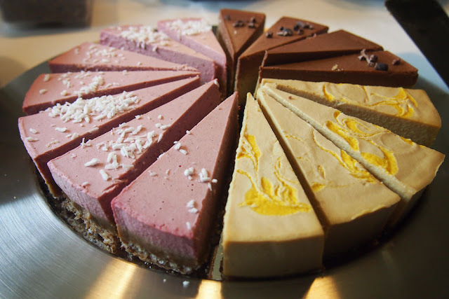 vegaaninen kakku raw cake