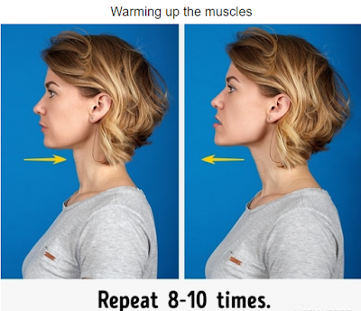 best exercises to get rid of double chin