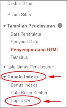 Cara Menghilangkan Tag Judul Duplikat di Webmaster Tools Google
