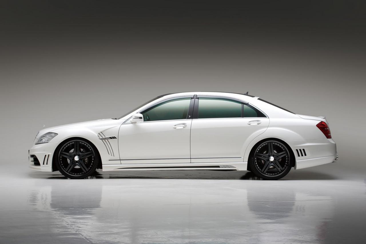 Mercedes-Benz S-Class Black Bison Edition styling kit for ...