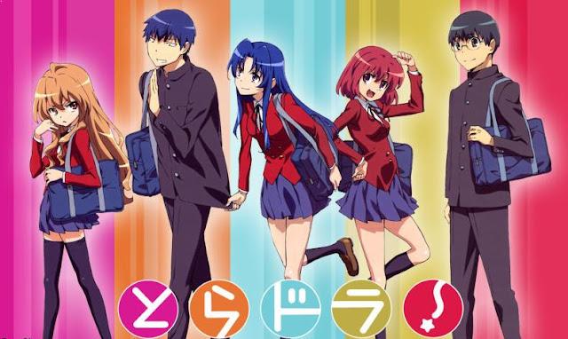 Anime Romance Slice of Life Terbaik - Toradora