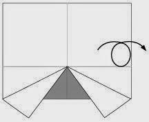 Bước 4: Lật mặt sau ra đằng trước.