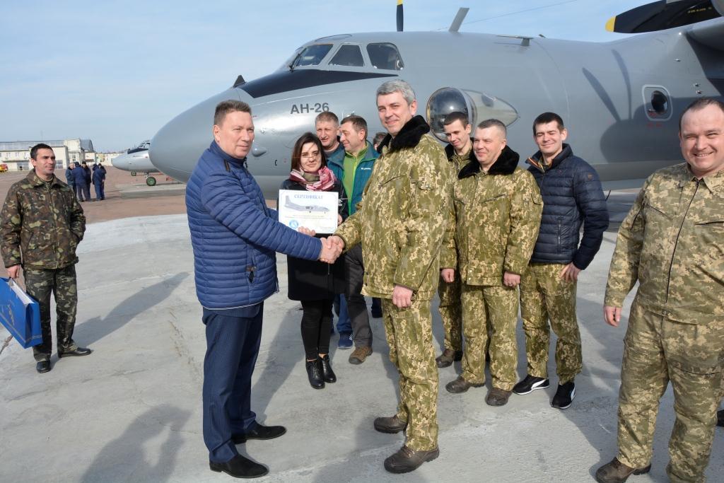 410-й завод передав ЗСУ Ан-26 та отримав черговий