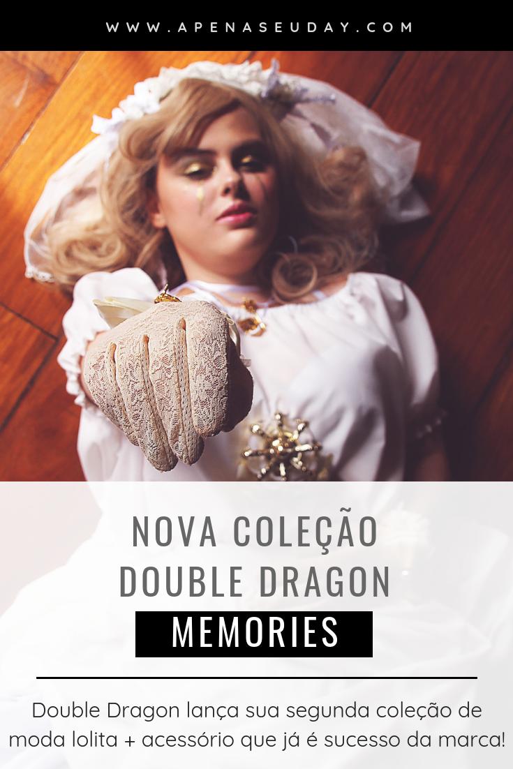 Nova coleção da marca Lolita Double Dragon: Memories. Double Dragon lança sua segunda coleção de moda lolita + acessório que já é sucesso da marca. Saiba mais agora!