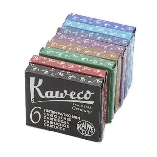 Cartuchos Kaweco de Tinta Estilográfica