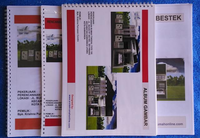 Perencanaan Desain Rumah Type 100 di Kota Samarinda