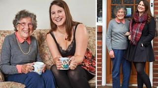 27χρονη φοιτήτρια συγκατοίκησε με 95χρονη για να πληρώνει μικρότερο ενοίκιο και η ηλικιωμένη να μην αισθάνεται πια μόνη