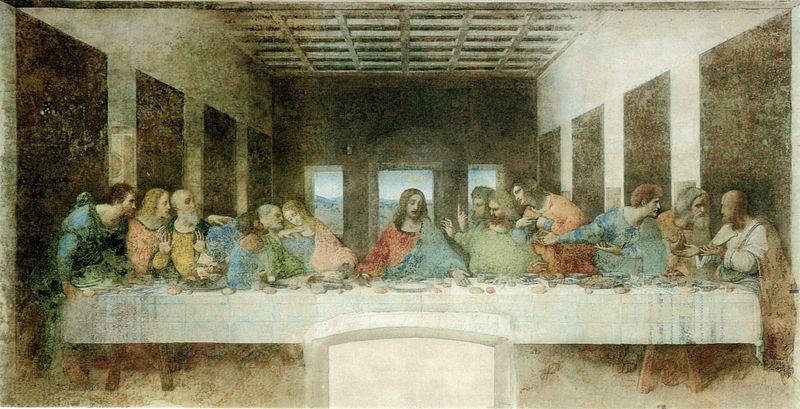 Da Vinci, La última cena