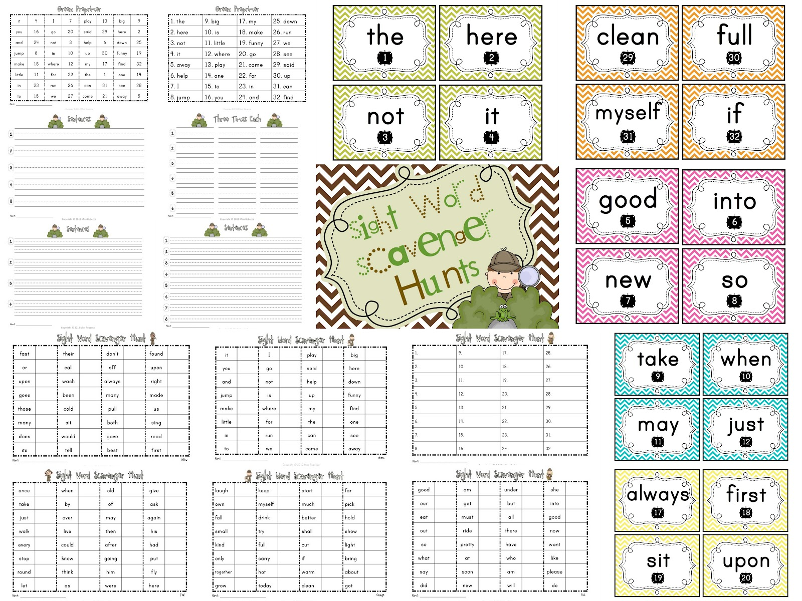 Keeping It Captivating Sight Word Love
