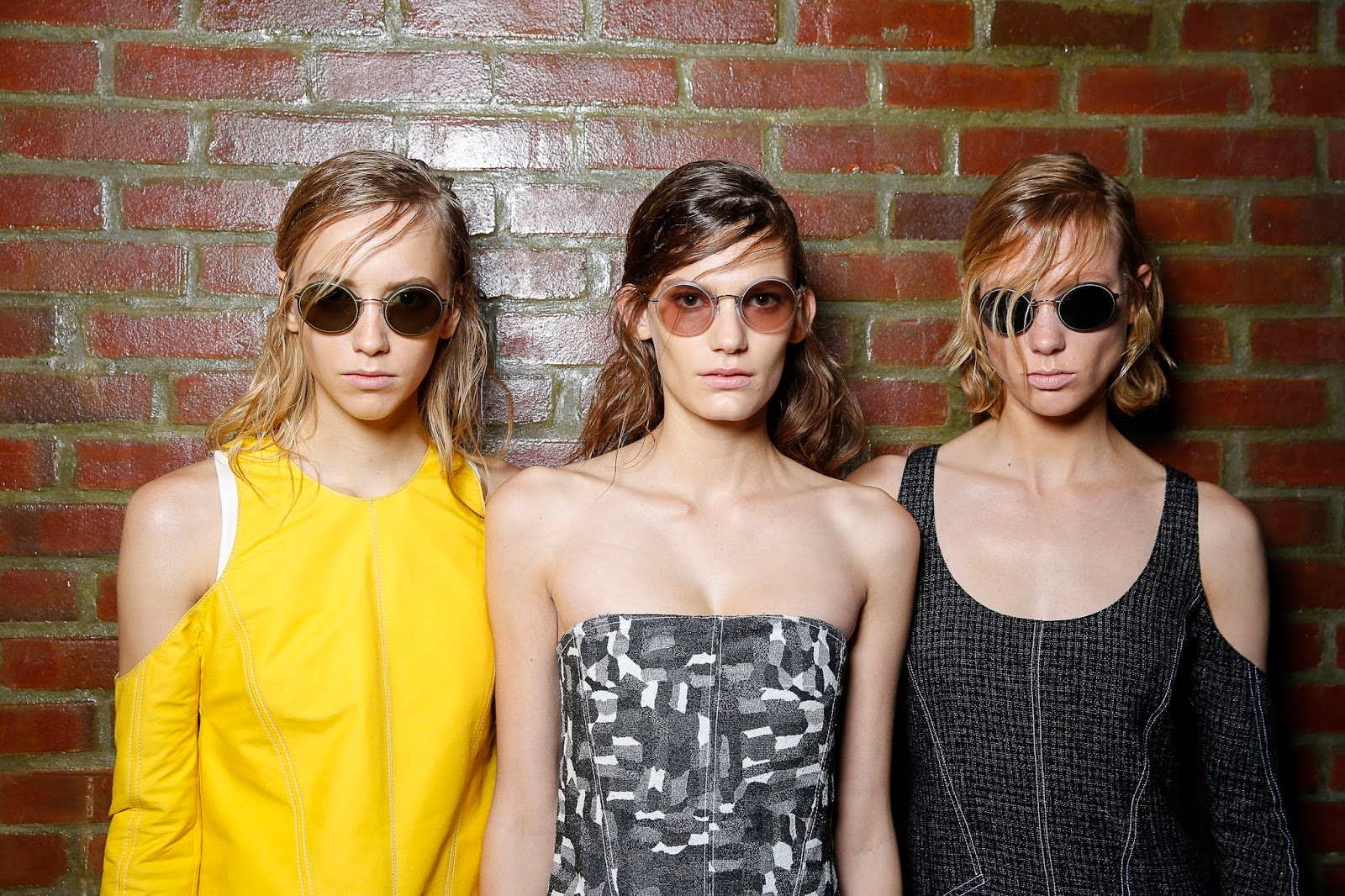 d478a02006e Kicking of NYFW this season were the SERIOULY CHIC sunglasses collaboration  from luxury label Silhouette x Wes Gordon  SS16. With the designer s  simple